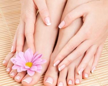Manicure & Pedicure com Esfoliação