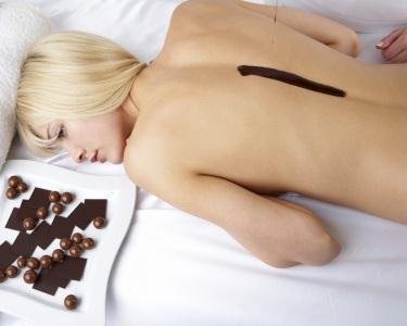 Massagem de Chocolate Localizada