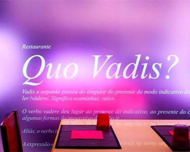 Jantar a la Carte no Quo Vadis?