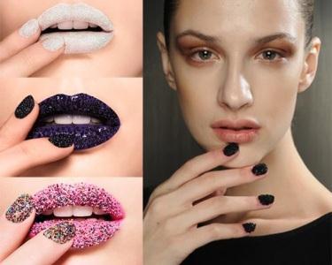 Unhas Caviar - Cor e Textura