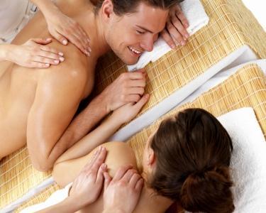 Massagem a 4 Mãos para Casal & Spa