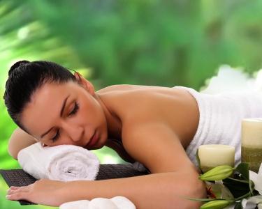 Massagem Relax de Maçãs Verdes