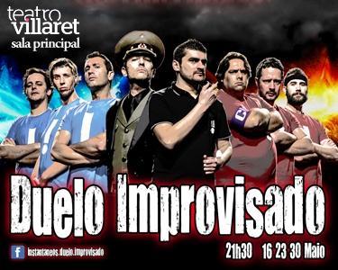 Comédia Duelo Improvisado - Villaret
