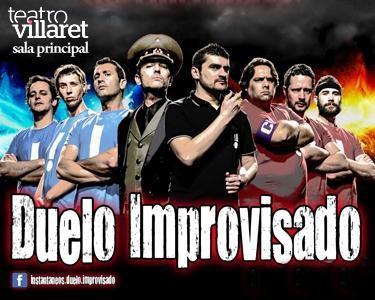 Comédia Villaret: Duelo Improvisado