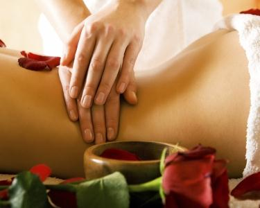 Massagem de Aromaterapia de Rosas
