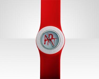 Relógio Art de Roberto Torretta | Vermelho