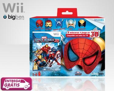 Jogo para Wii Marvel Grandmaster's Challenge 3D