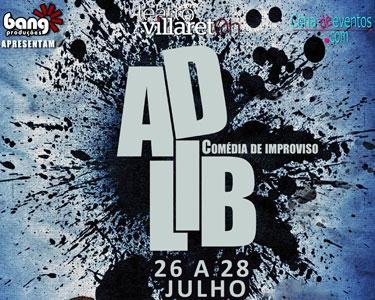 Espetáculo ADLIB no Teatro Villaret