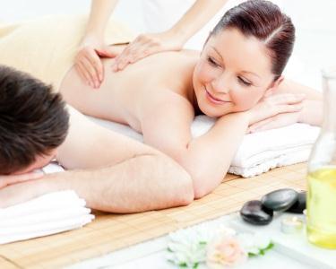 Massagem Pedras Frias para Casal