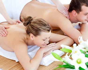 Massagem Óleos Aromáticos para 2