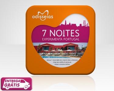 7 Noites a 2 - 100 Hotéis à Escolha