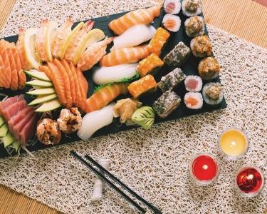 Rest. Infusão - Sushi Lovers 46Peças