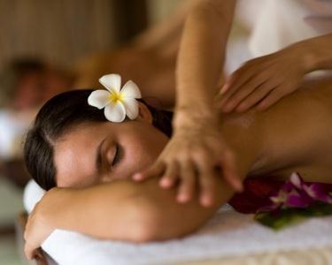 Massagem Óleos Aromáticos Casal