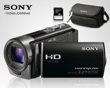 Sony Full HD + Cartão 16Gb