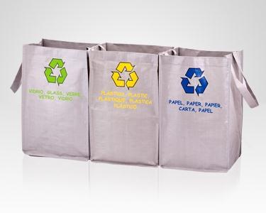 Sacos Reciclagem - Amigos Ambiente