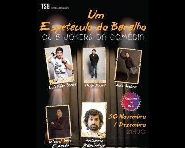 Um Espetáculo do Baralho - no Porto