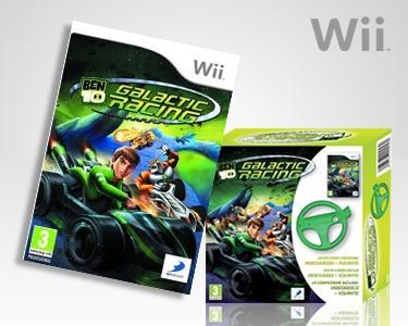 Wii-Ben 10 Galactic Racing & Volante