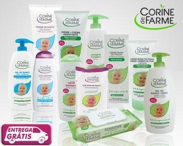 Corine de Farme-Cabaz 10 produtos para bebé
