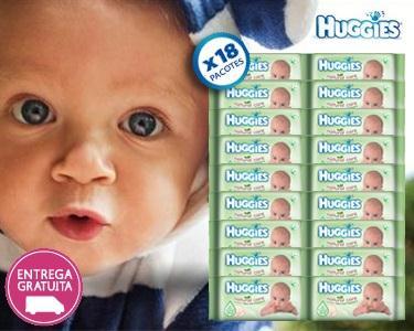 1152 toalhitas Huggies® Natural Care