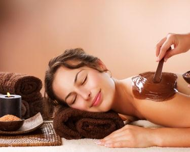 Esfoliação   Envolvimento   Massagem de Chocolate - 1h50