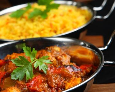 Almoço ou Jantar a 2 na Índia   Comida Goesa