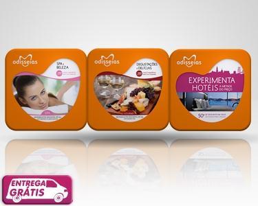 3 Presentes - SPA+Gourmet+Hotéis