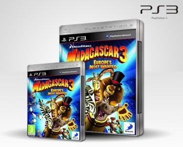 Jogo Playstation Madagascar 3