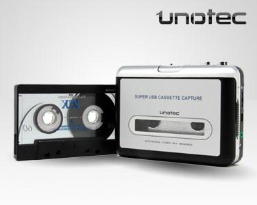 Conversor de Cassete em Mp3 Unotec
