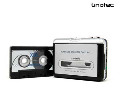 Conversor de Cassete em Mp3 Unotec®