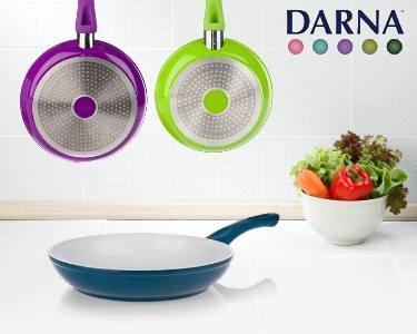 3 Frigideiras Cerâmicas Coloridas da Darna® | Cozinhe Saud��vel!