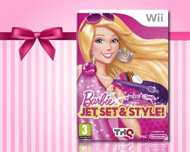 Barbie: Jet, Set & Style - Wii