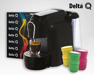 Delta® Qool & 100 Cápsulas & 4 Copos