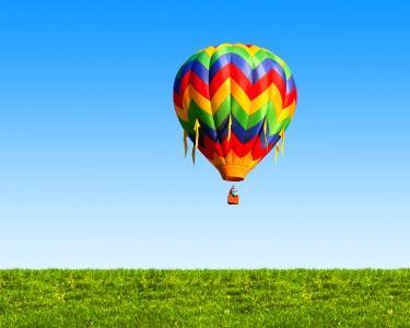 Voo Mágico de Balão! - Pack SkyBox®