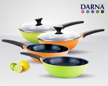 Wok & Frigideira Cerâmica Darna®