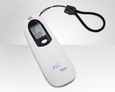 Alcoolimetro Digital Branco