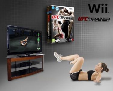 Wii - UFC Personal Trainer com Cinto