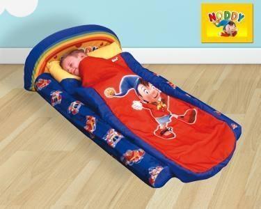 Cama de Viagem Infantil do Noddy ou SuperMan | Ideal para as Férias! -> Escolha a sua cama -> Cama de Viagem - Noddy