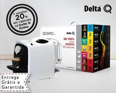 49€ em Café=Máquina Delta Q Grátis
