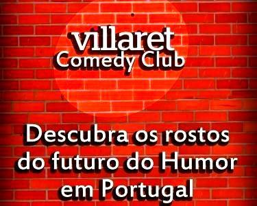 Villaret Comedy Club   Espetáculo