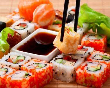 Workshop de Sushi para Verdadeiros Fãs!