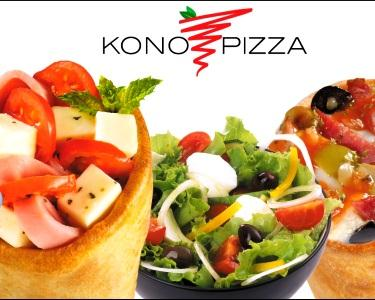 2 Menus Kono Pizza®  A Pizza em Cone