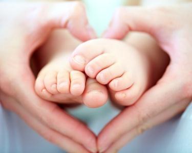 Massagem Shantala para Bebés