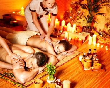 Massagem com Velas&Ritual de Chá a 2