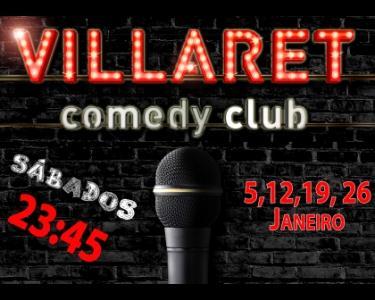 Espetáculo | Villaret Comedy Club