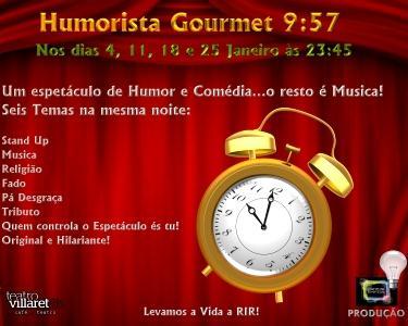 Humorista Gourmet 9.57 - Teatro Villaret