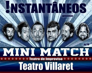 Comédia Mini-Match | Teatro Villaret