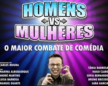 Espetáculo Homens VS Mulheres