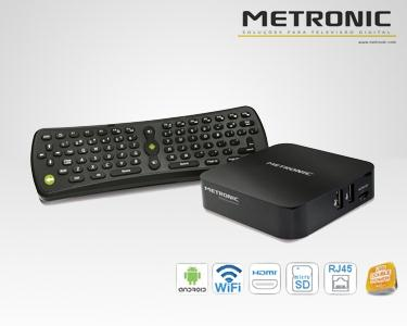 Transforma a tua TV em Smart TV - Media Center Metronic