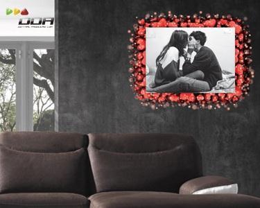 Impressão de Fotos em PVC - Romântico