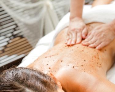 Esfoliação de Cerejas & Massagem